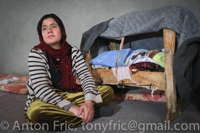 Yazidi refugees in Iraq