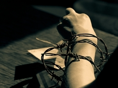 Uväznená