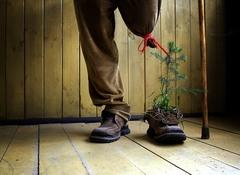 Využitá topánka