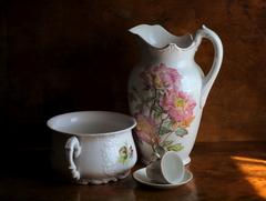 Zátišie s porcelánom