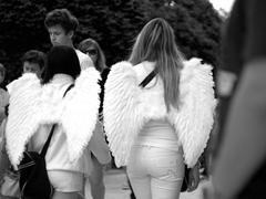 Anjeli na prechádzke