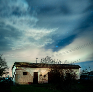 noc na dvore