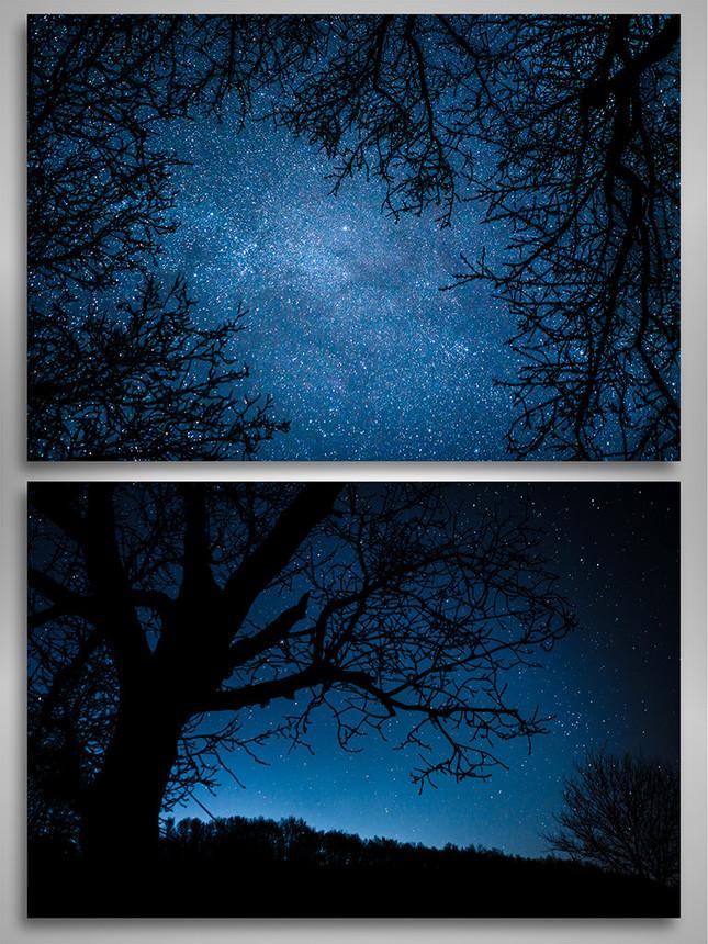 Noc pod hviezdami