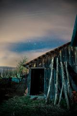 kvôlnička v noci