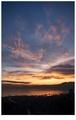 Obloha nad januárovou Rijekou