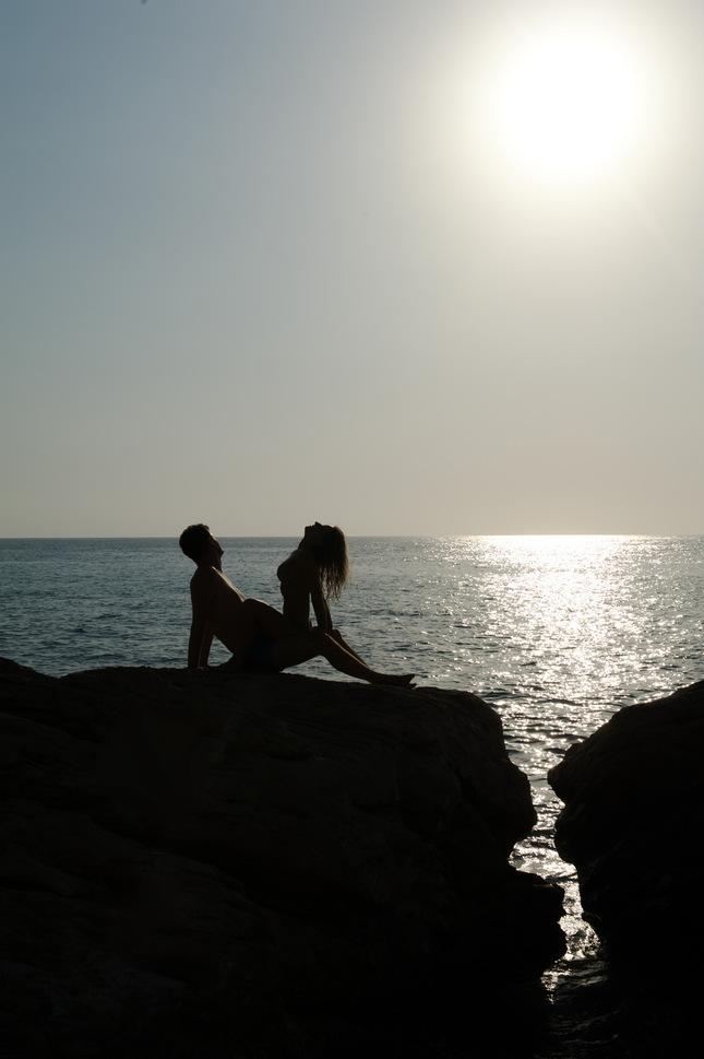 Romanticky západ slnka
