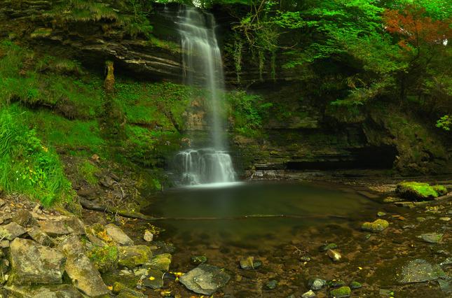 Glencar Waterfall III