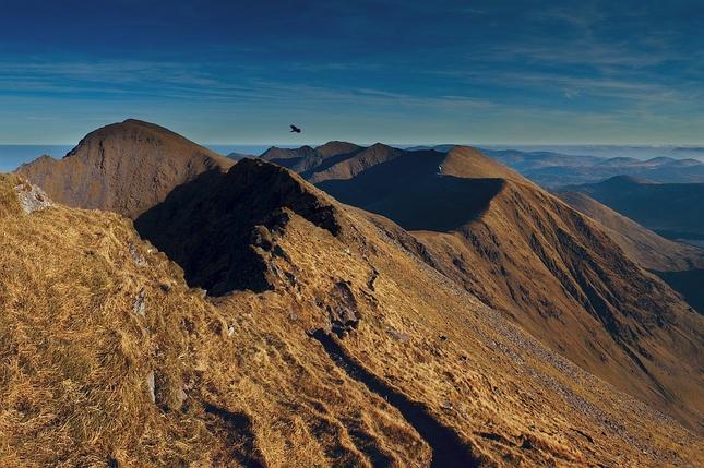 Pohlad z hrebena  Caheru XI