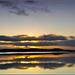Beltra Lough V-zapad slnka nad C