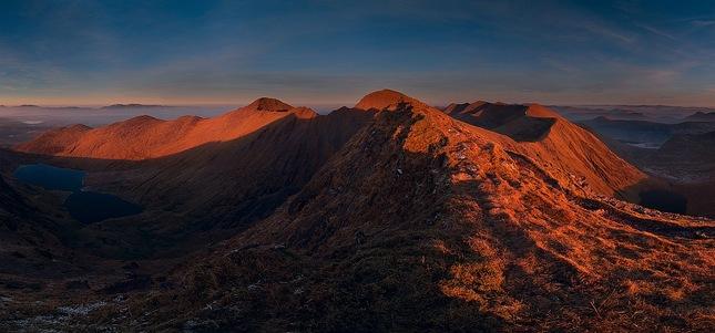 Pohlad z hrebena  Caheru V