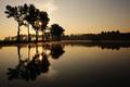 ráno na jezere II