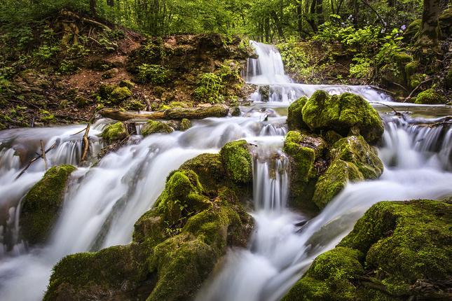Hájske vodopády
