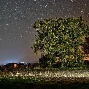 Hviezdna hra nad dedinkou