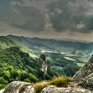 Výhlad zo Súlovských vrchov