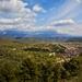 Mesto Berat a hora Tomorri