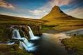 Magická hora Kirkjufell