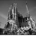 Sagrada Família BW
