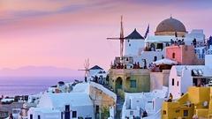 Santorini vo farbe