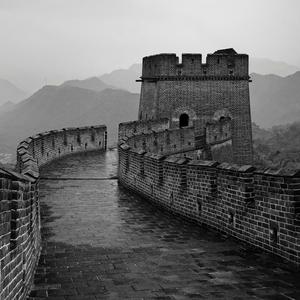 Upršaný deň na čínskom múre