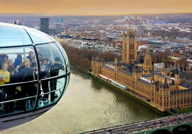 London Eye is fun