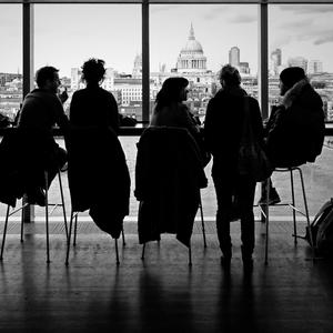 Siluety z Tate Modern