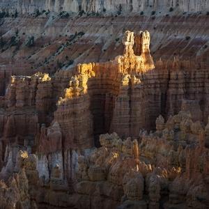 Večer v Bryce Canyon