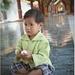 Chlapec s vajcom