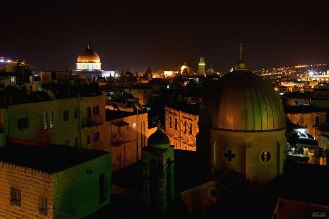 Nočný Jeruzalem