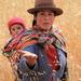 Peruánka s dieťaťom