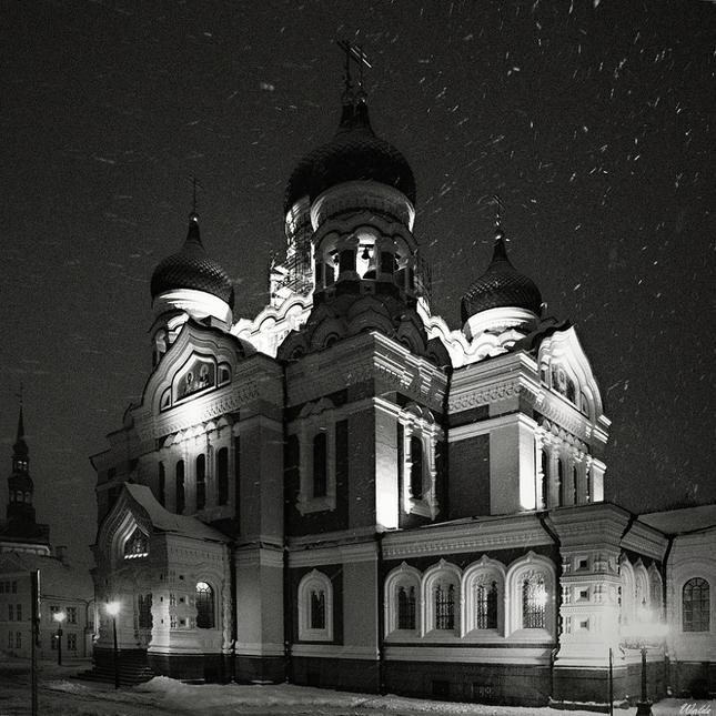 Metelica nad katedrálou