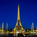 Parížska klasika tmavomodrá