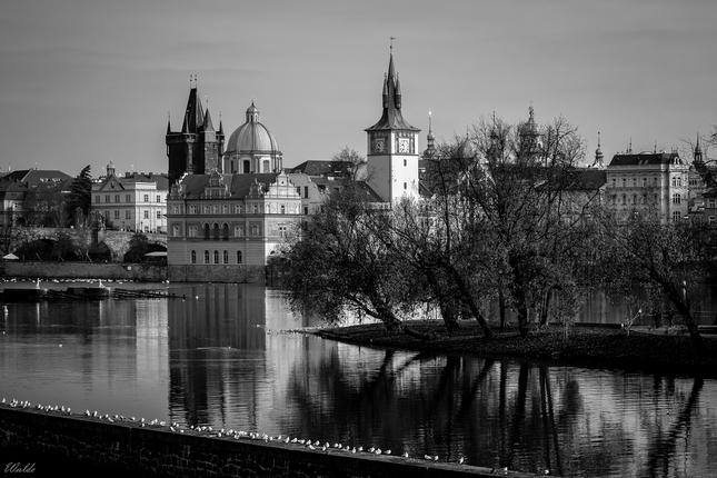 Čiernobiela Praha