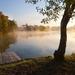 Ráno pri jazere