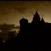 Bojnice castle (Under a violet m