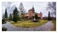 Bojnice castle Panorama 3