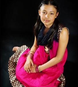 Dievčinka z ďalekého východu