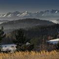 Pohľad na Vysoké Tatry z Ulože
