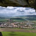 Spišské Podhradie zo Spišského hradu