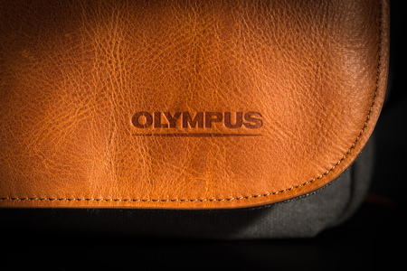 Olympus OM-D Messenger Leather Bag