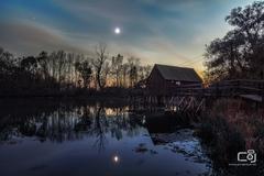 Súmrak pri mlyne