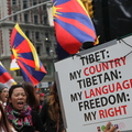 Demonstration of the Free Tibet