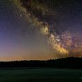 Mliečna dráha za východu Slnka