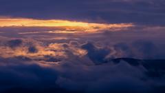 Západ slnka na Liptove