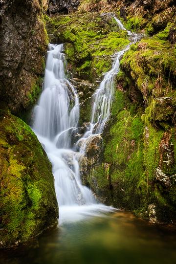 Vodopád na potoku Borovianka
