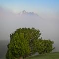 Ako hora z hmly vystúpila