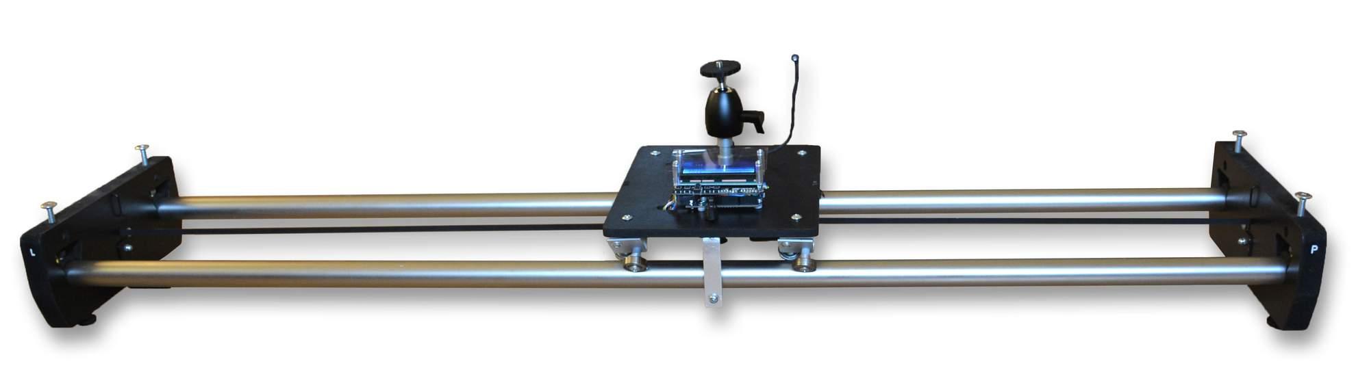 Motorized TimeLapse slider & dolly & rail, časozberné video a fotografia, DIY project based on Arduino