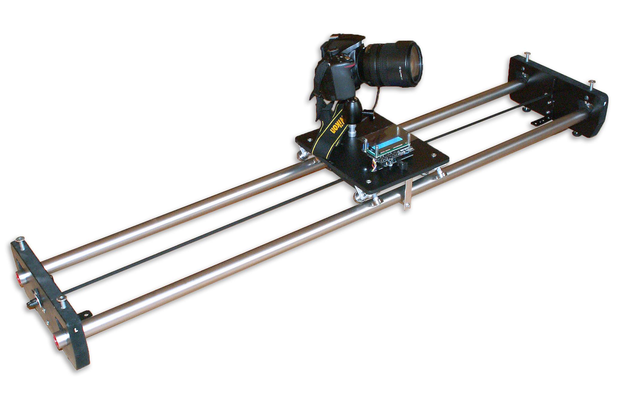 Motorizovany TimeLapse slider & dolly & rail, časozberné video a fotografia, DIY project based on Arduino