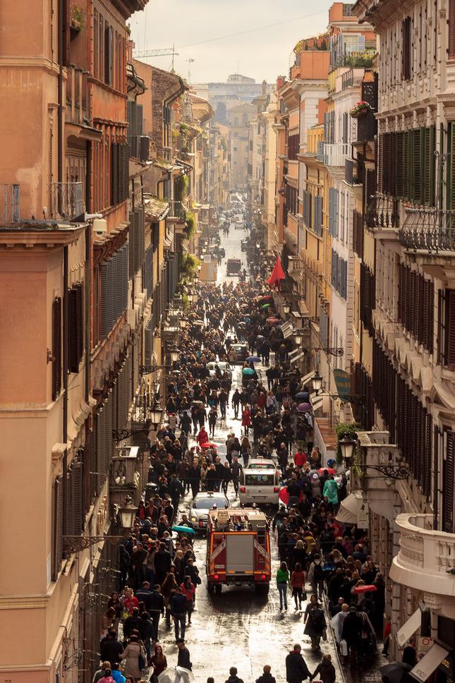V uliciach Ríma