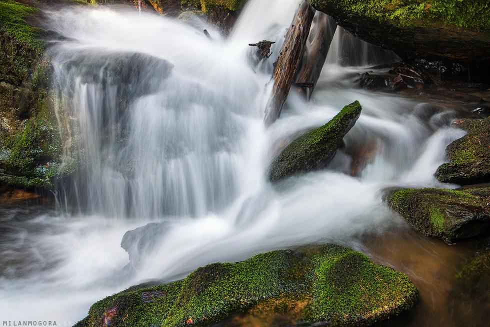 Rešovské vodopády- Huntava