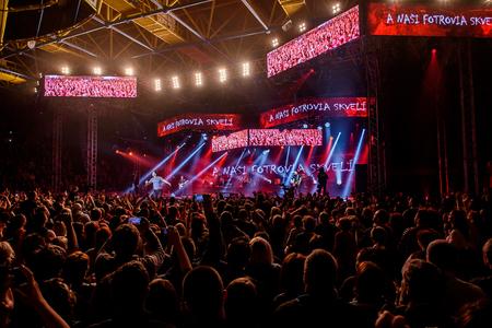 "HABERA a TEAM ""33"" Tour 2016, 16.5.2016 zimný štadión Martin"